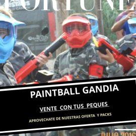 VACACIONES DE VERANO ..PAINTBALL GANDIA