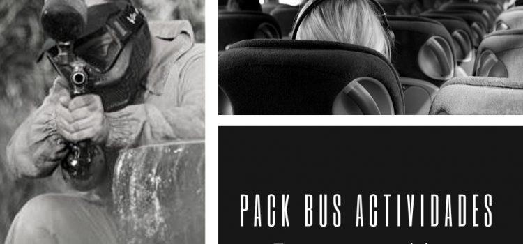 Pack actividades con bus en Gandia.